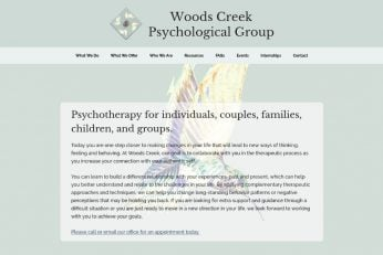 Woods Creek Psychological Group