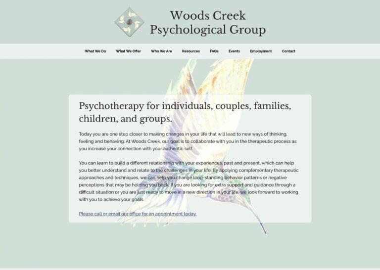 Woods Creek Psychological Group